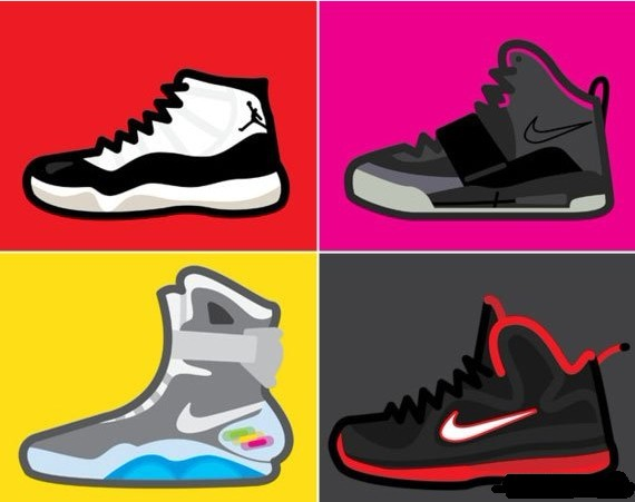 Jordan Shoe Drawing Tumblr